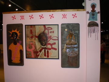 photo of Works of Art booth space